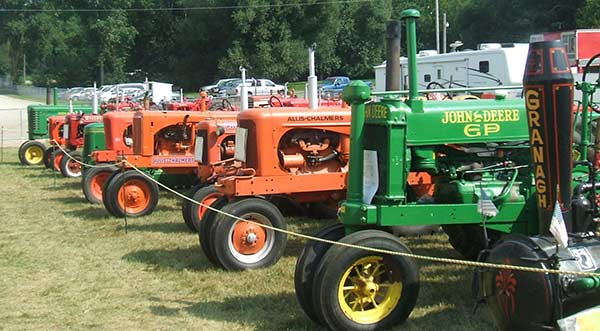 Antique Farm Machinery Exhibit