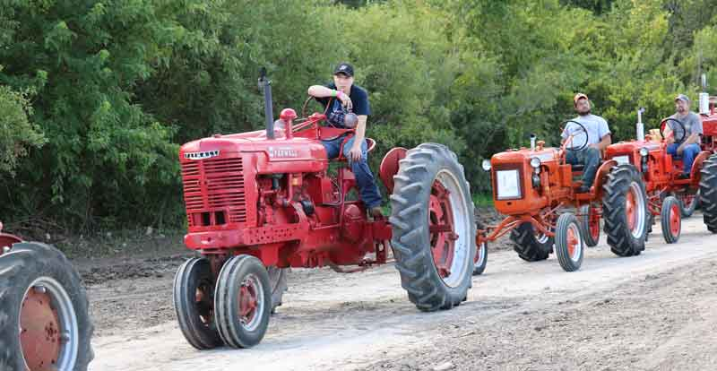 Antique Tractor Parade & Exhibit