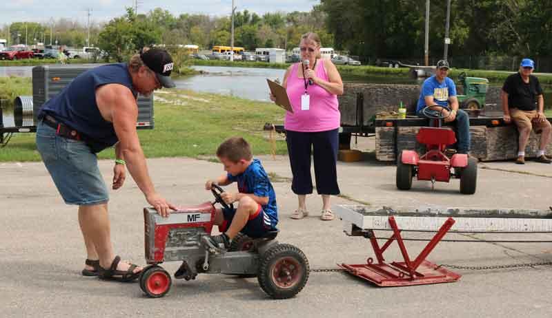 Pedal Tractor Pull - Kenosha County Fair